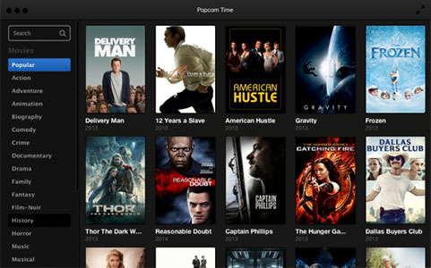 Best Popcorn Time for Mac to Download Movies/TV Shows on Mac OS X