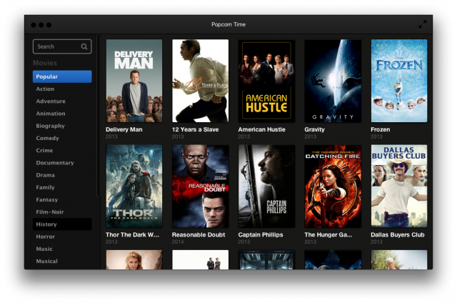 How to download Popcorn Time on Mac?