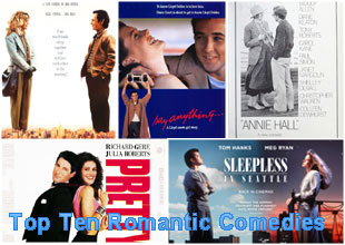Top ten best rom coms