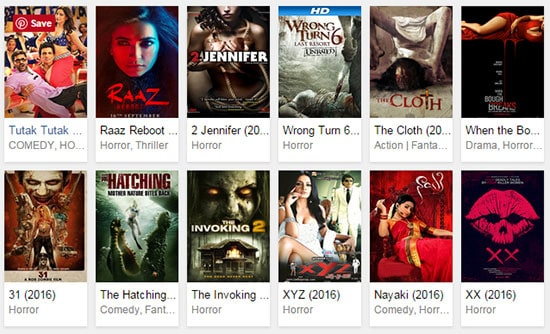 download horror movies 2016
