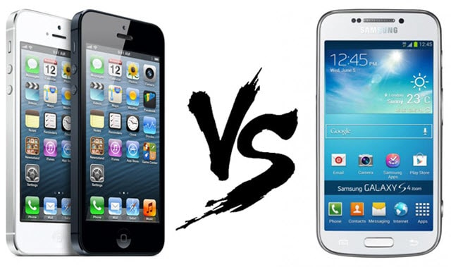 samsung galaxy s5 vs iphone 5s which smartphone is the. Black Bedroom Furniture Sets. Home Design Ideas