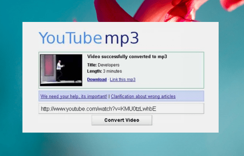 How to Convert URL to MP3 - Icecream Apps