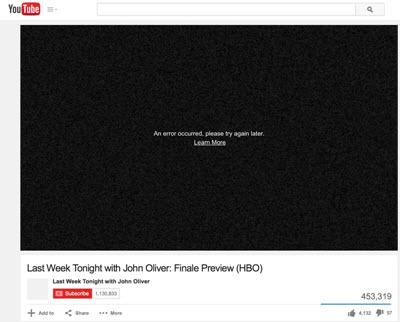 videos not working