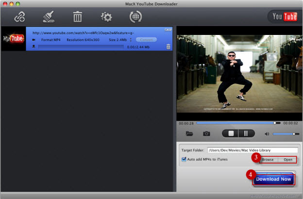 Free mp4 video song  Oppa Gangnam style on mobile which supports from Djmaaza.com