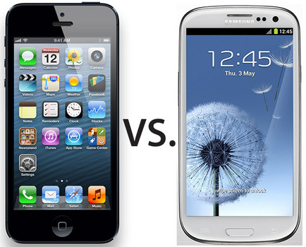 samsung vs iphone samsung galaxy s3 vs iphone 5 review will iphone 5 be the 1823