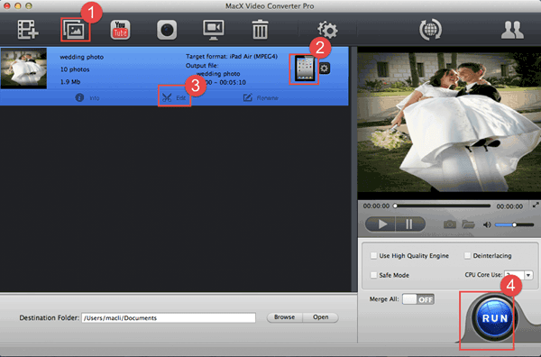 How To Create A Slideshow For Wedding With Background Music