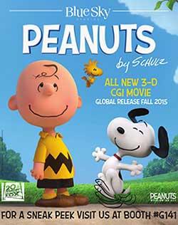2015 New Animated Movie Peanuts