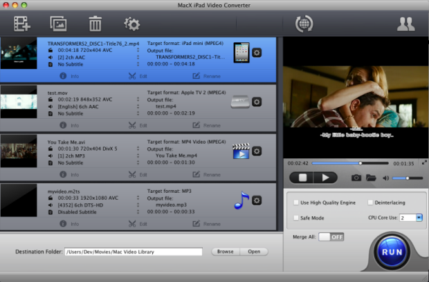 MacX iPad Video Converter 5.0.5