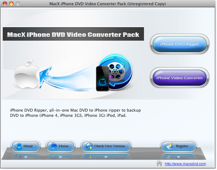 MacX iPhone DVD Video Converter Pack