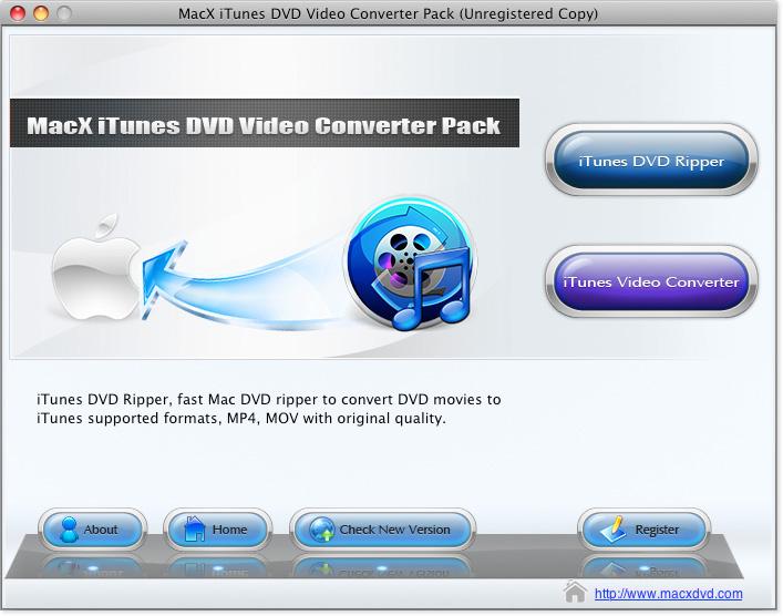 MacX iTunes DVD Video Converter Pack 4.0.3