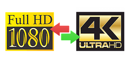 How to Convert 1080P to 4K in Real UHD Image Quality