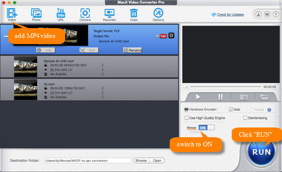 Top free mp4 joiner software review with how to guide fastest mp4 joiner without re encoding ccuart Choice Image
