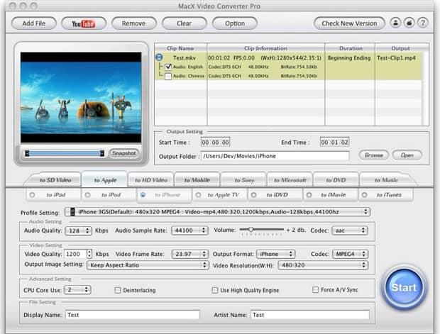 MacX Video Converter Pro – 视频转换软件[OS X]丨反斗限免