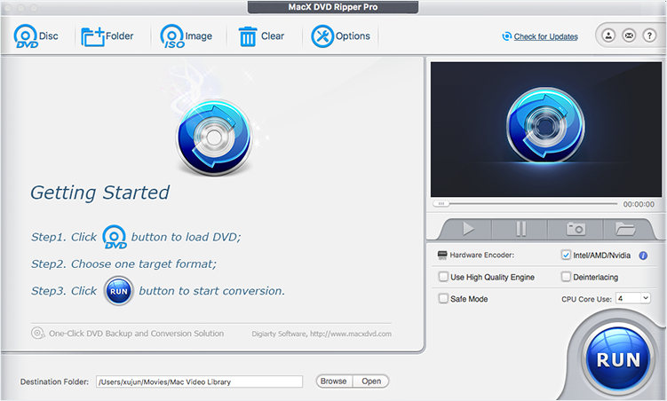 The Fastest DVD Ripper for Mac - Fast Copy/Rip Protected DVD