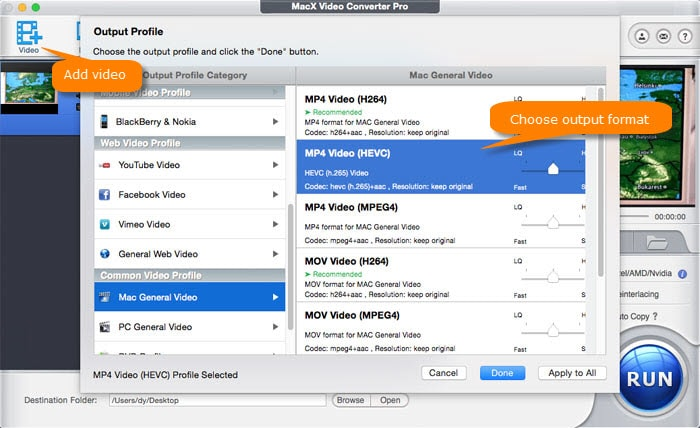 How to reduce MP4 video files on Mac