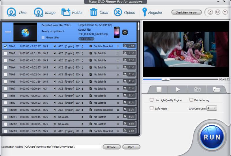MacX DVD Ripper Pro – DVD 烧录软件丨反斗限免