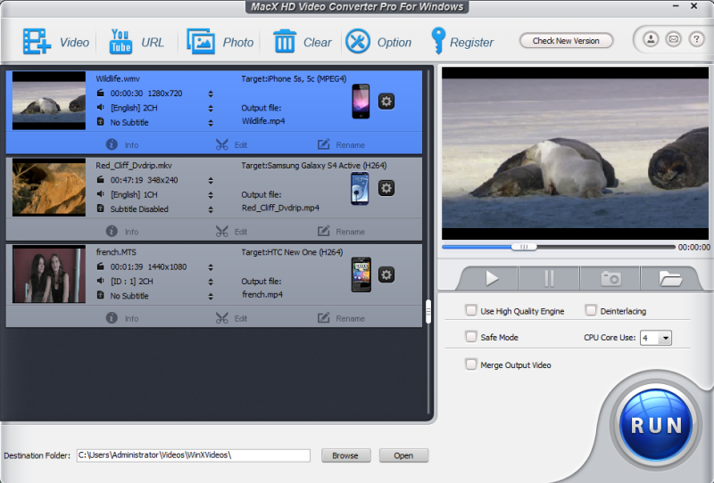 MacX HD Video Converter Pro for Windows – 高清视频转换软件丨反斗限免