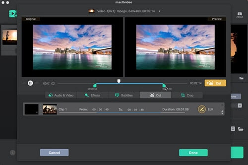 How to edit videos on Mac for free