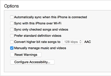 how to turn off icloud music library on iphone 4s