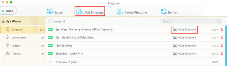 set ringtone iphone xs