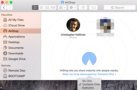 AirDrop Not Working on Mac macOS Sierra/Mojave iOS 12/11 Fixed