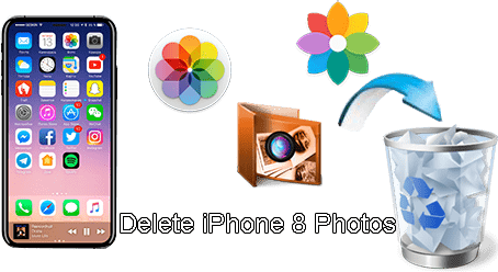 how to mass delete photos from iphone five ways to bulk delete photos from iphone 8 plus x quickly 6138