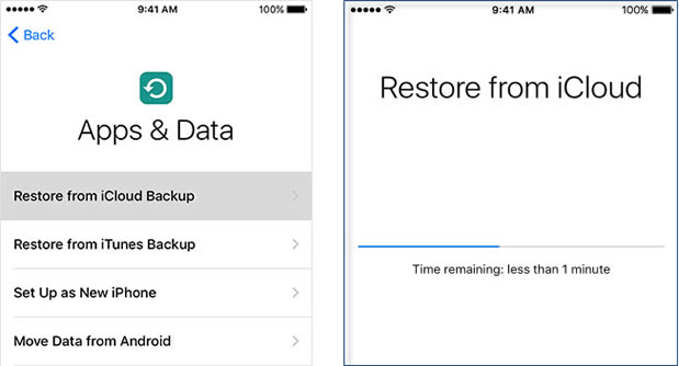 iPhone X - How to Backup & Restore Files to iPhone 8/Plus