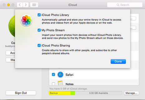 how to download all icloud photos on new iphone