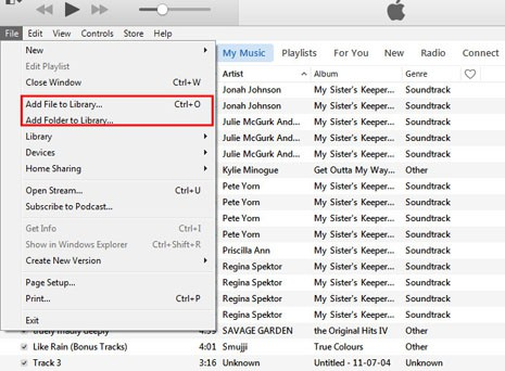 How to Transfer Music from iPod to iTunes without Losing Music