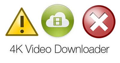 4k video downloader error
