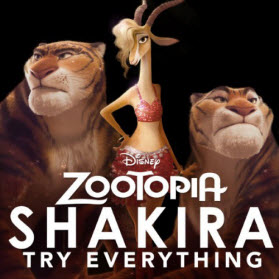 Shakira songs try everything mp4 music video (full) in zootopia.