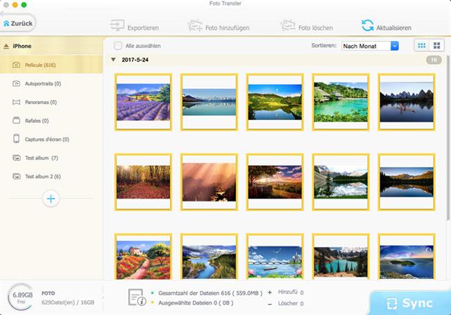 bilder vom iphone auf macbook übertragen