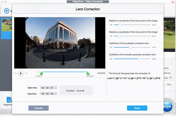 How to Correct GoPro Fisheye Distortion without GoPro Studio or