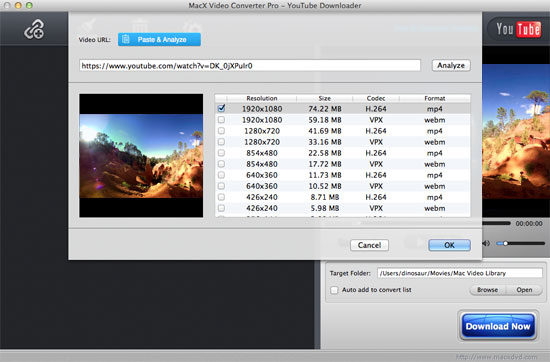 Best YouTube Downloader for macOS Sierra with High Quality and Fast