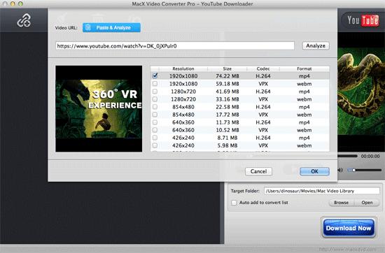 360 Degree Video Downloader