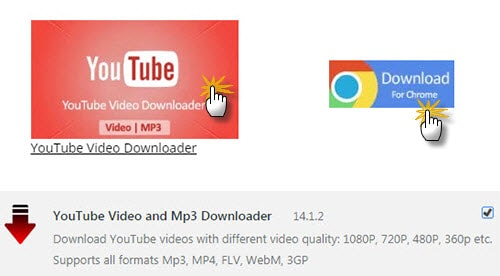 One Click YouTube MP3 Extension to Download YouTube to MP3