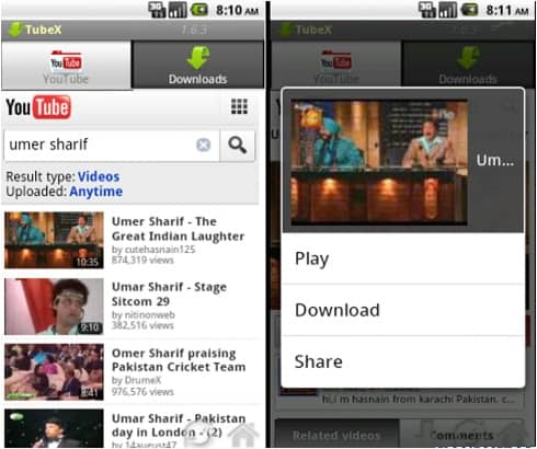 Youtube offline app for android phone tablets watch and download youtube offline on android ccuart Images